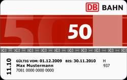 Bahncard 50 Rentner