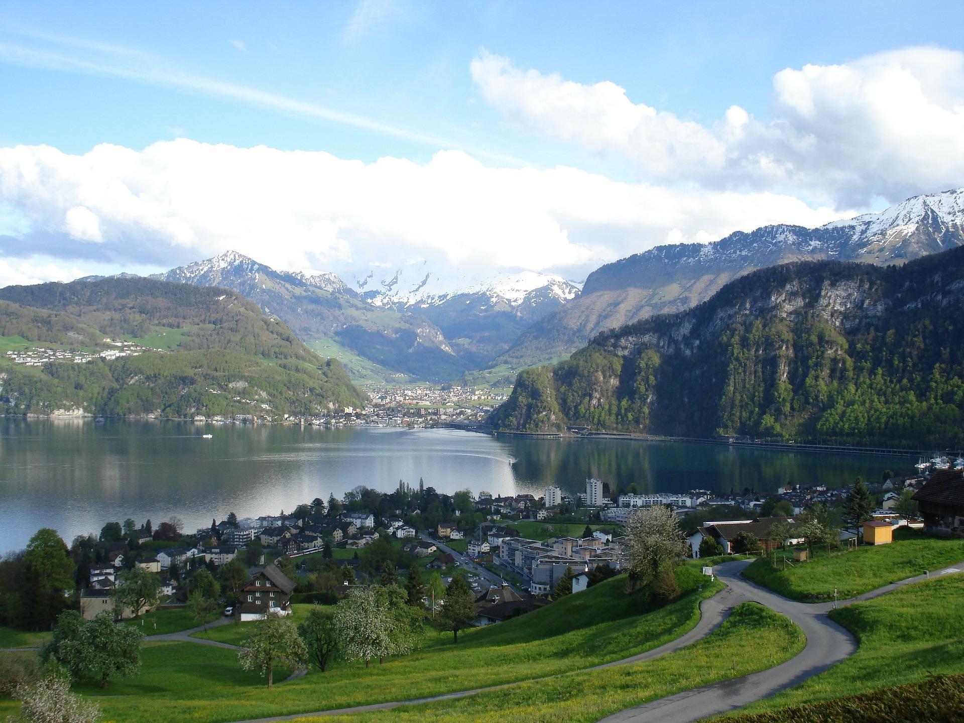 Zentralschweiz Landschaft