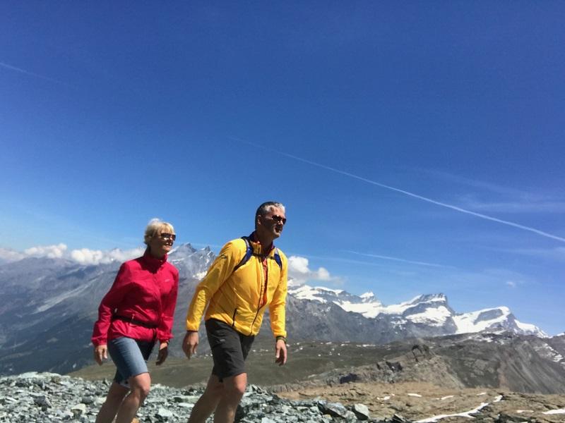 Wanderung am Gornergrat