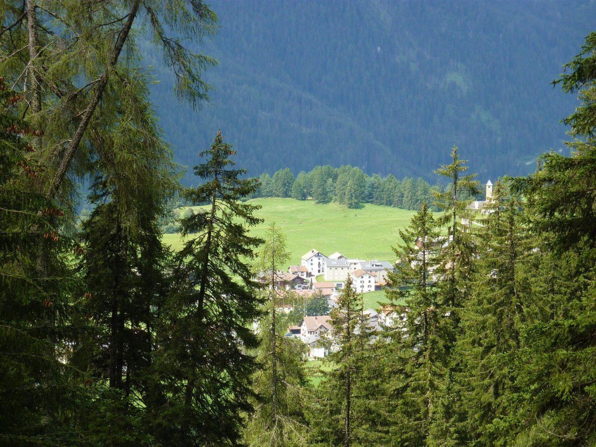 Graubünden Ausblick