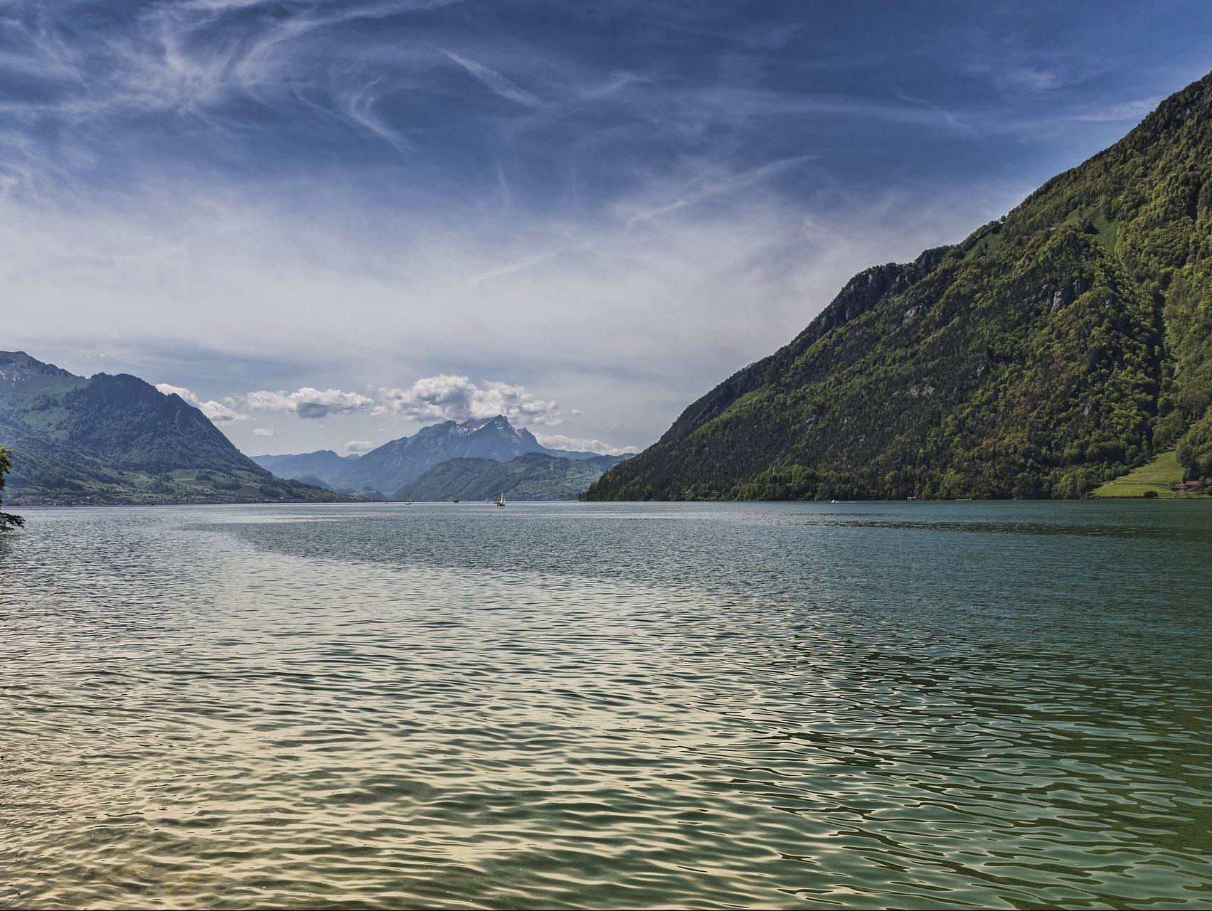 Vierwaldstätter See Schweiz