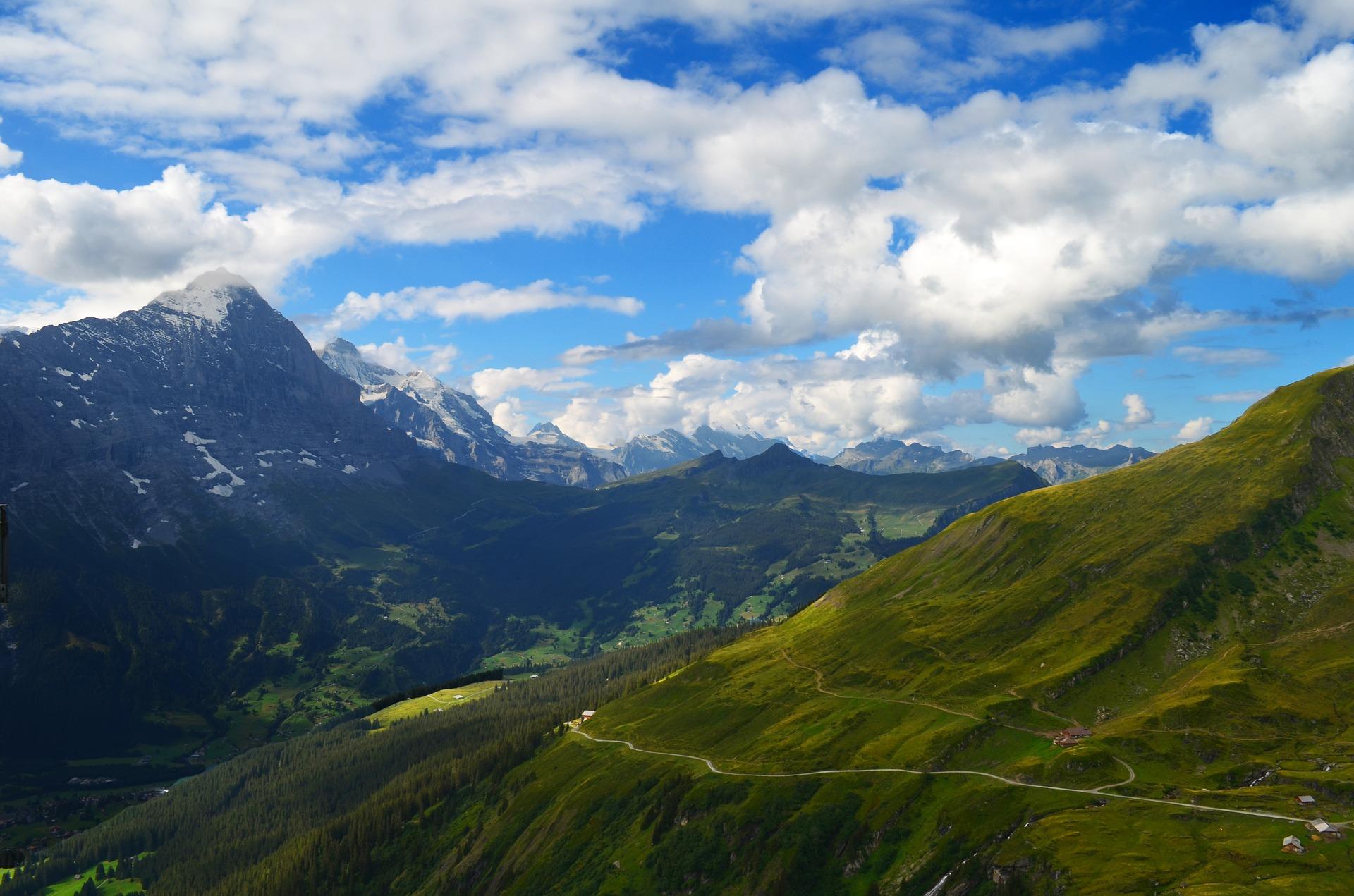 Schweiz Alpinelandschaft