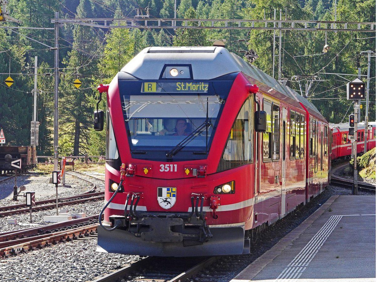 St. Moritz Regionalzug