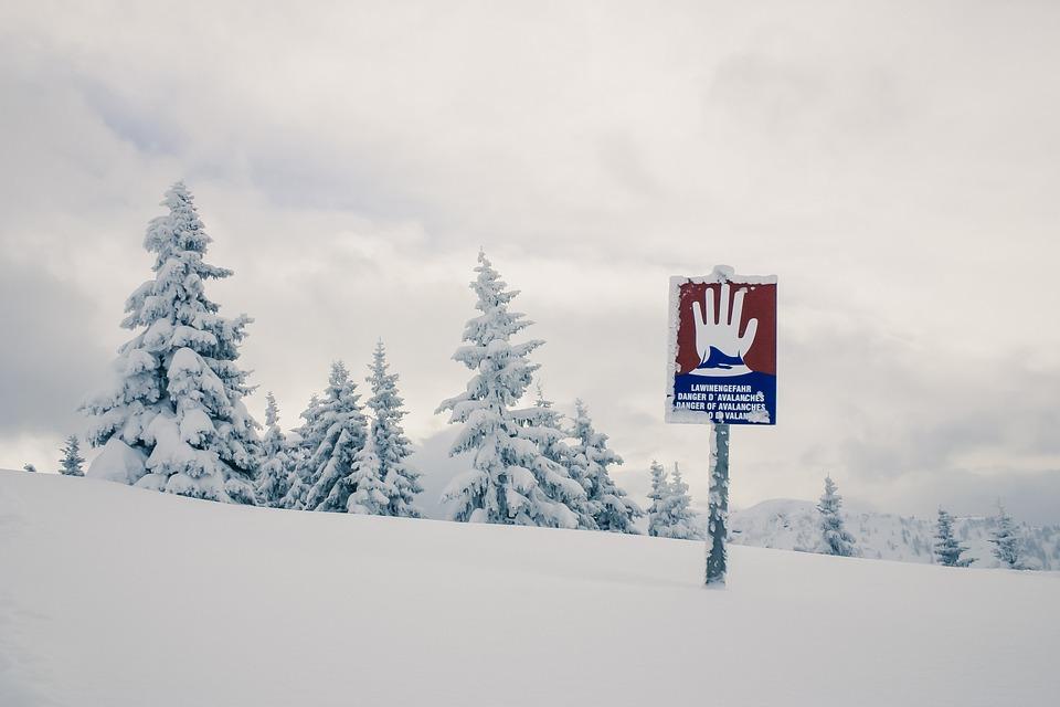 Lawinengefahr Alpen