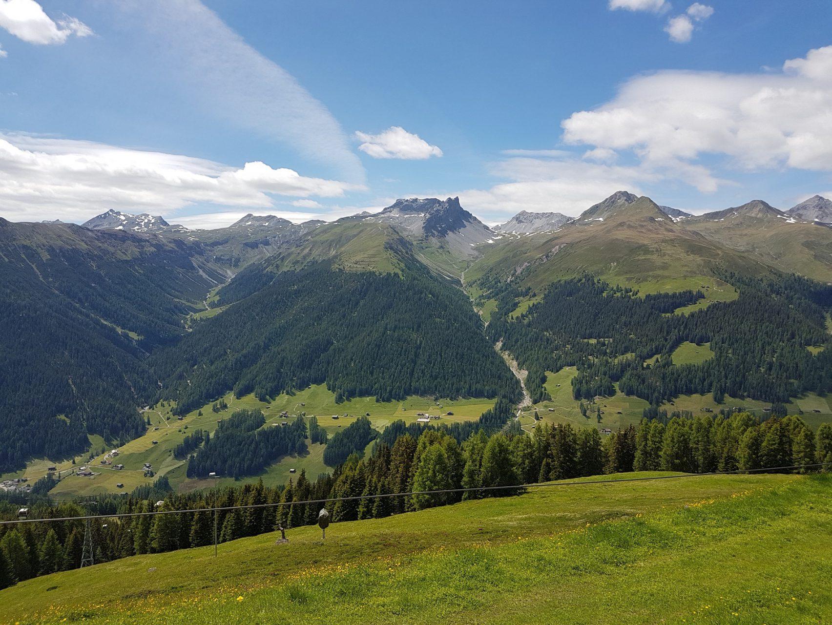 Schweiz Davos Graubünden