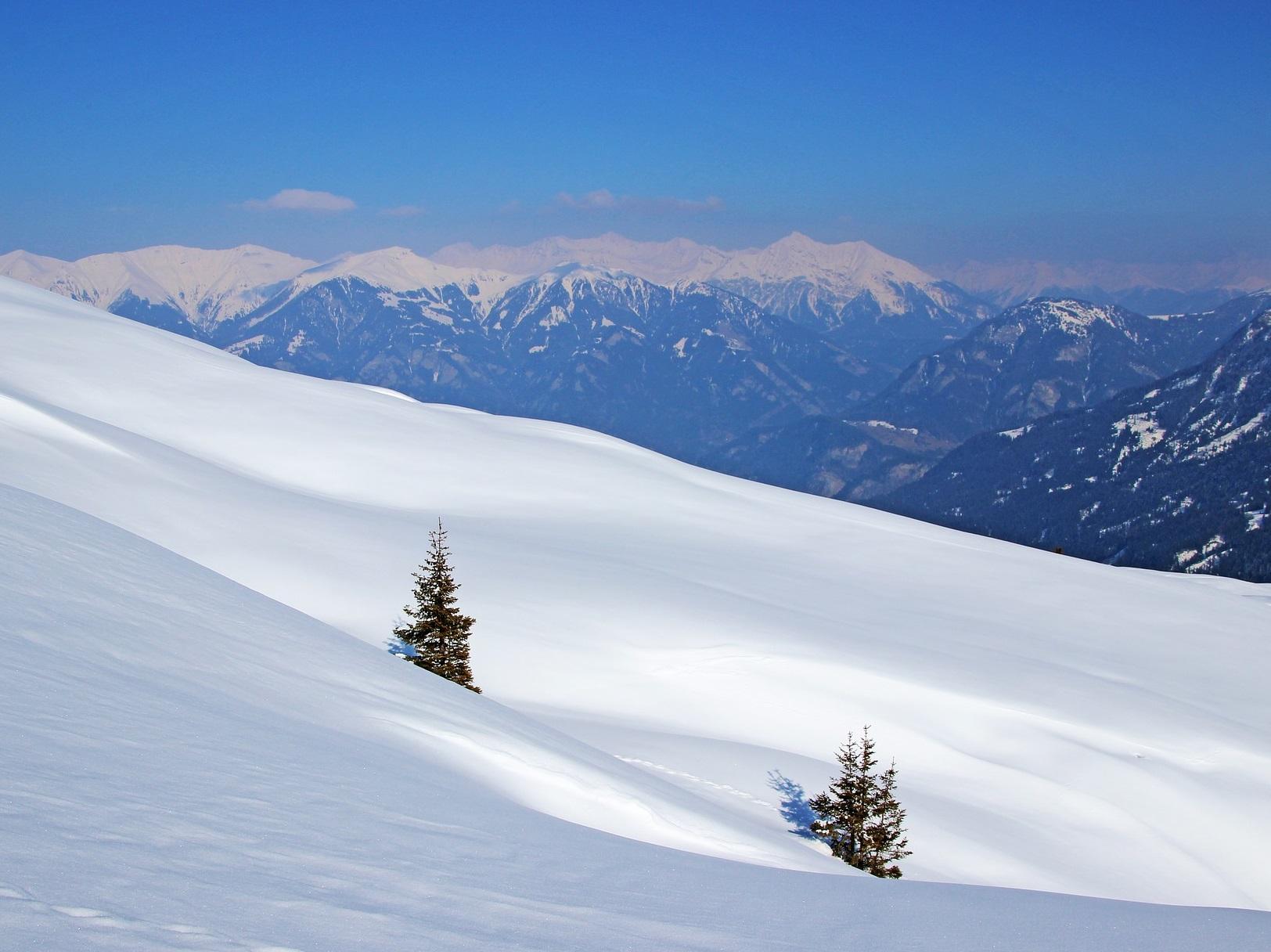 Ladschaften Winter Alpen
