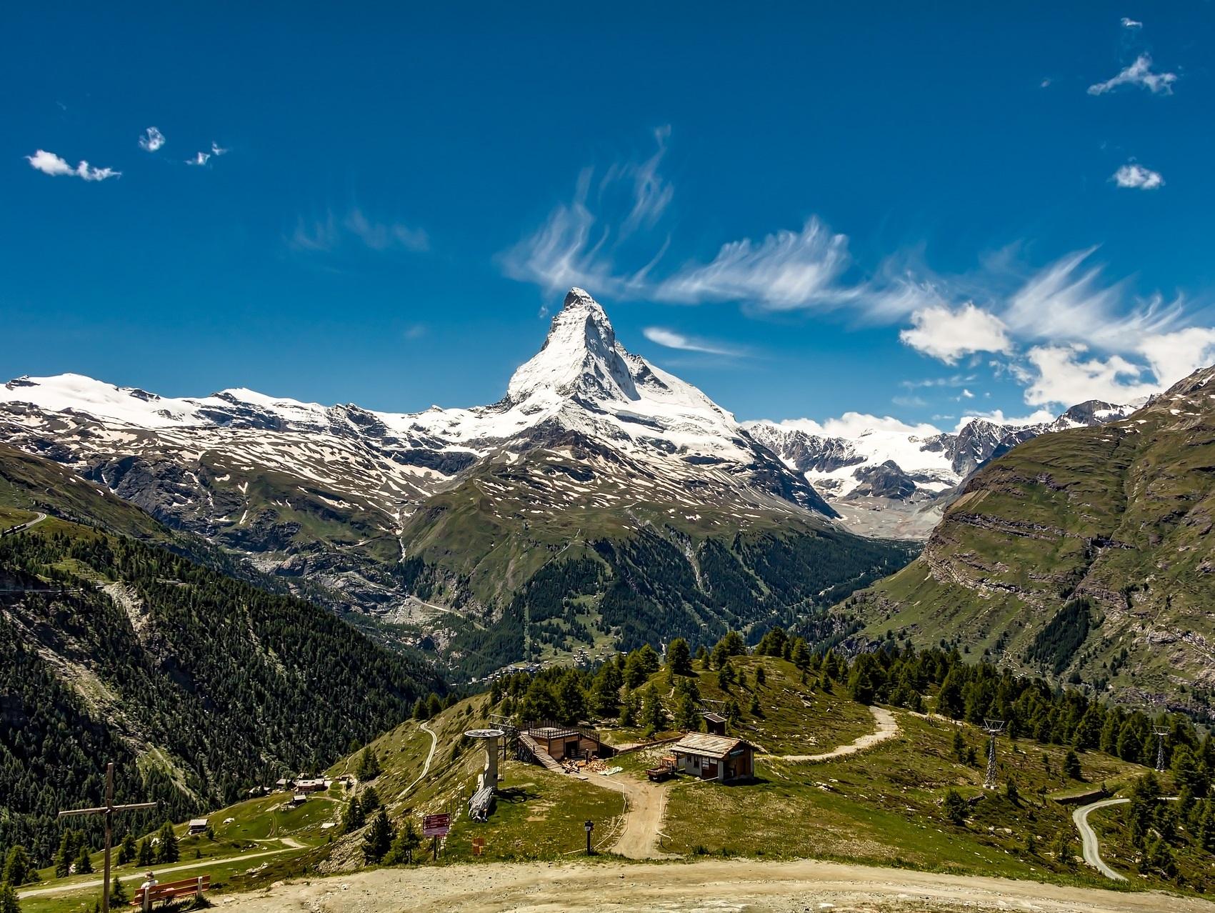 Blick auf Matterhorn