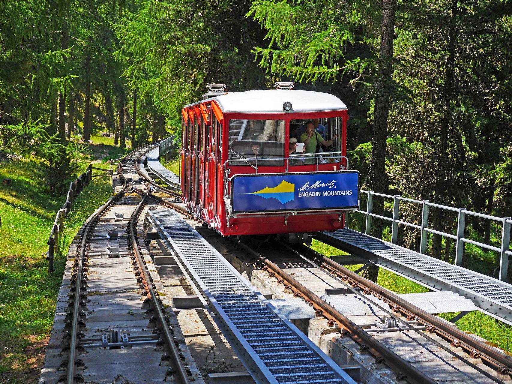 St. Moritz Bergbahn
