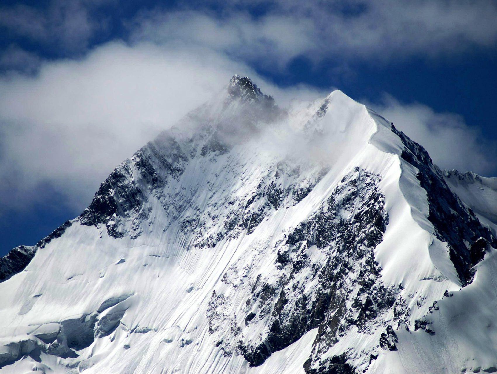 Piz Bernina Schweiz Alpen