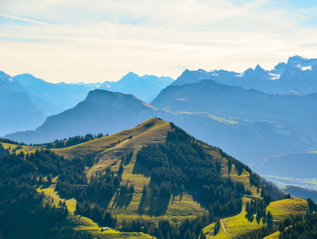 Alpen Berglandschaften