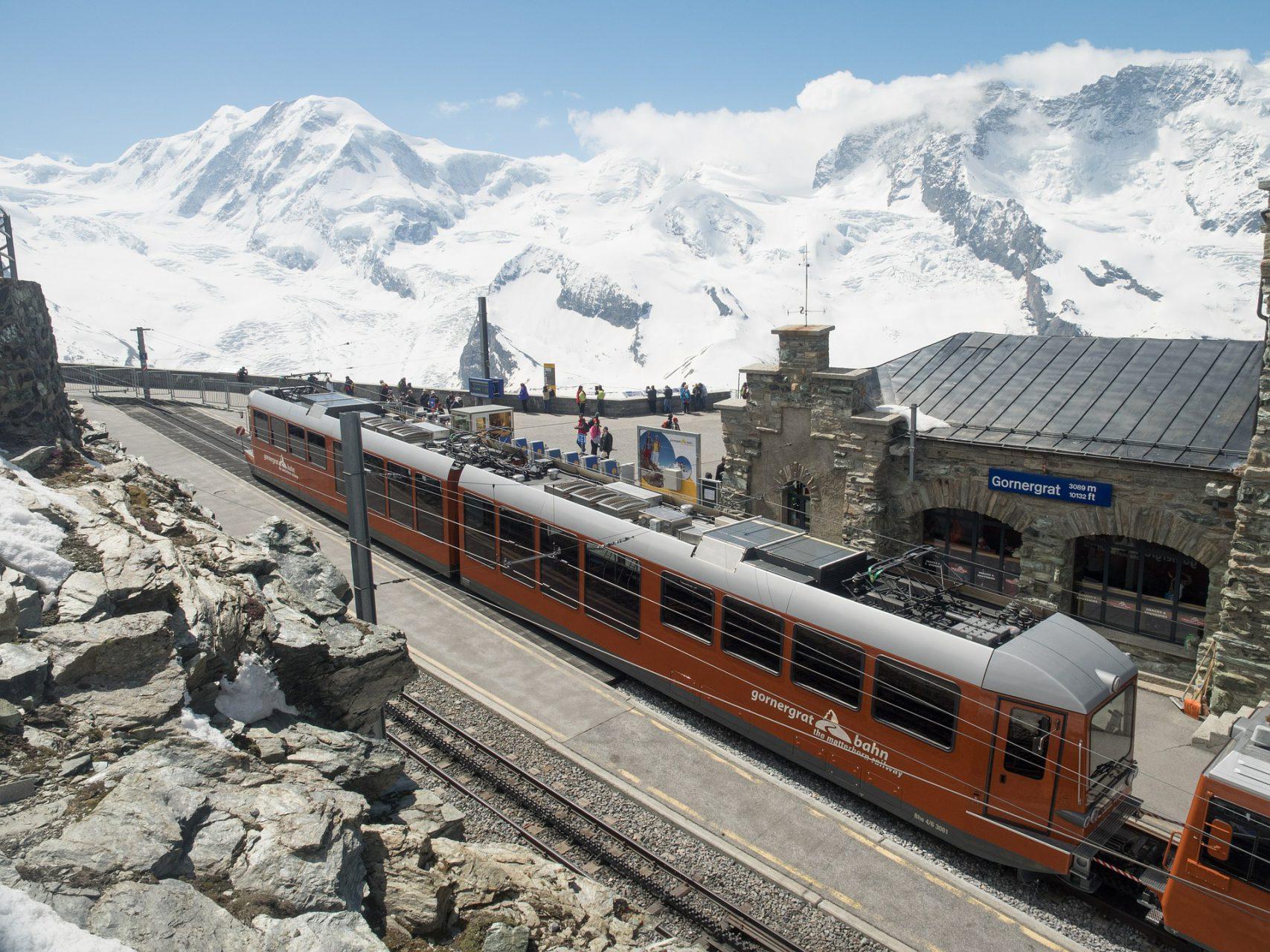 Bahn Wallis Gebirgsbahn Gornergrat Bahn