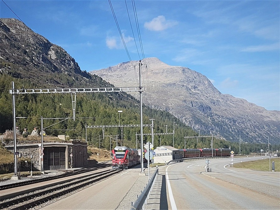 Engadin mit Bernina Express