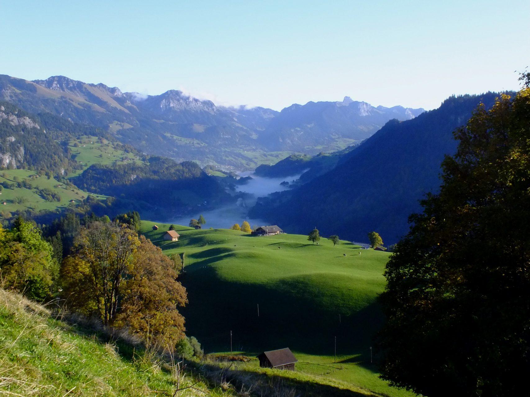 Landschaften im Berner Oberland