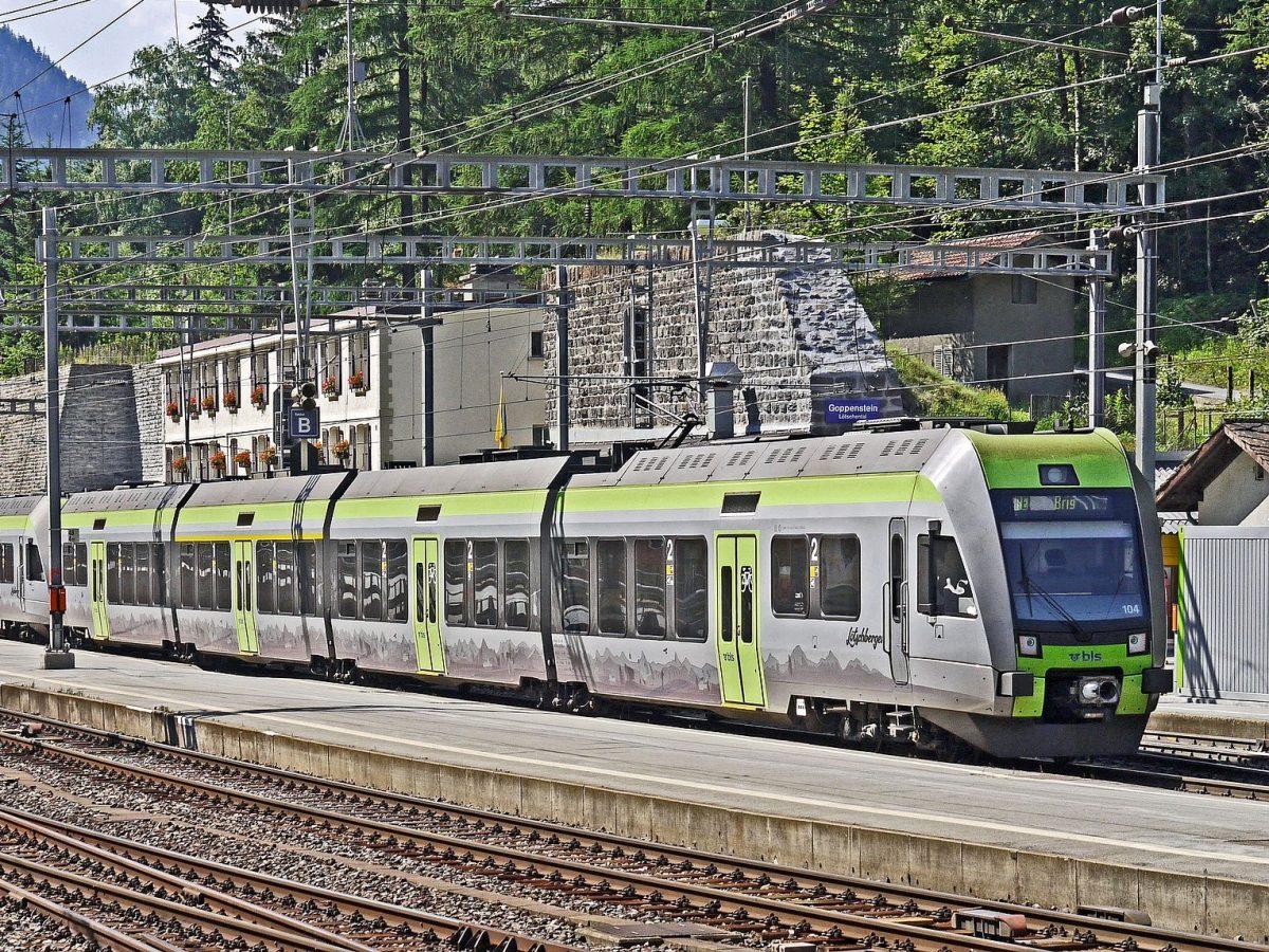 BLS, Goppenstein, Bahnhof