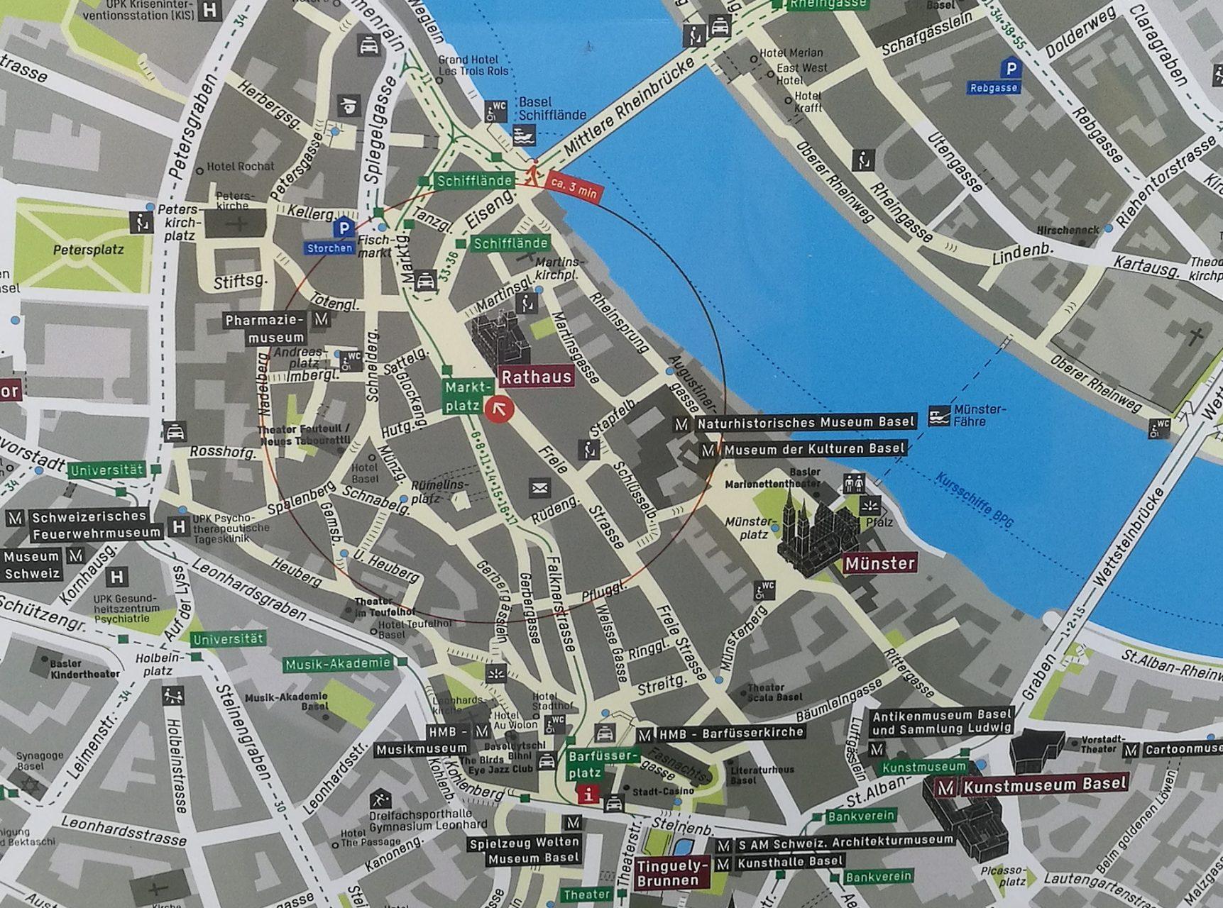 Basel Map