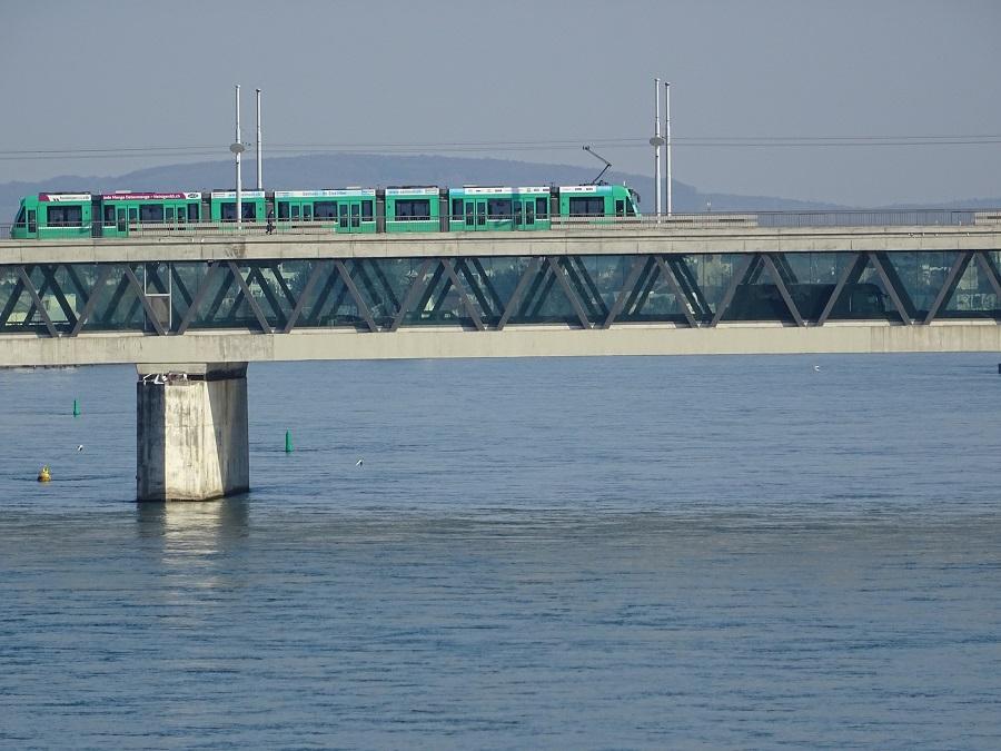 Basel Rhein Brücke