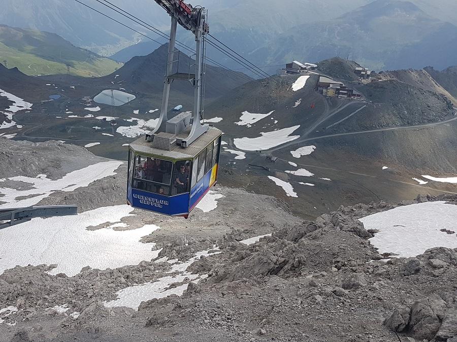 Davos Weissfluhgipfel Bergbahn Parsen