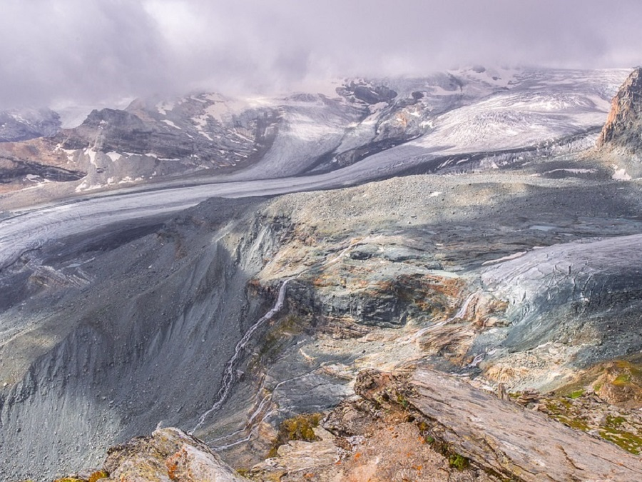 Schweiz Landschaften Gletscher