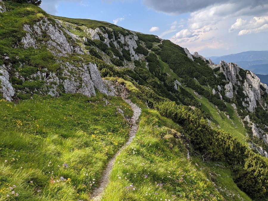 Schneeberg Wanderweg