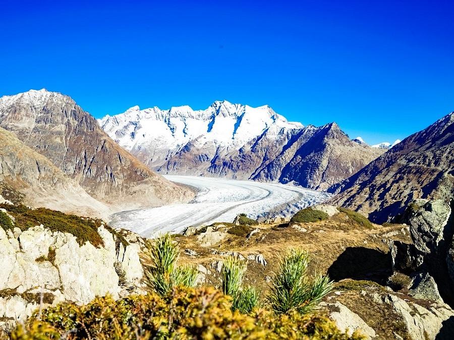 Jungfrauregion Aletschgletscher
