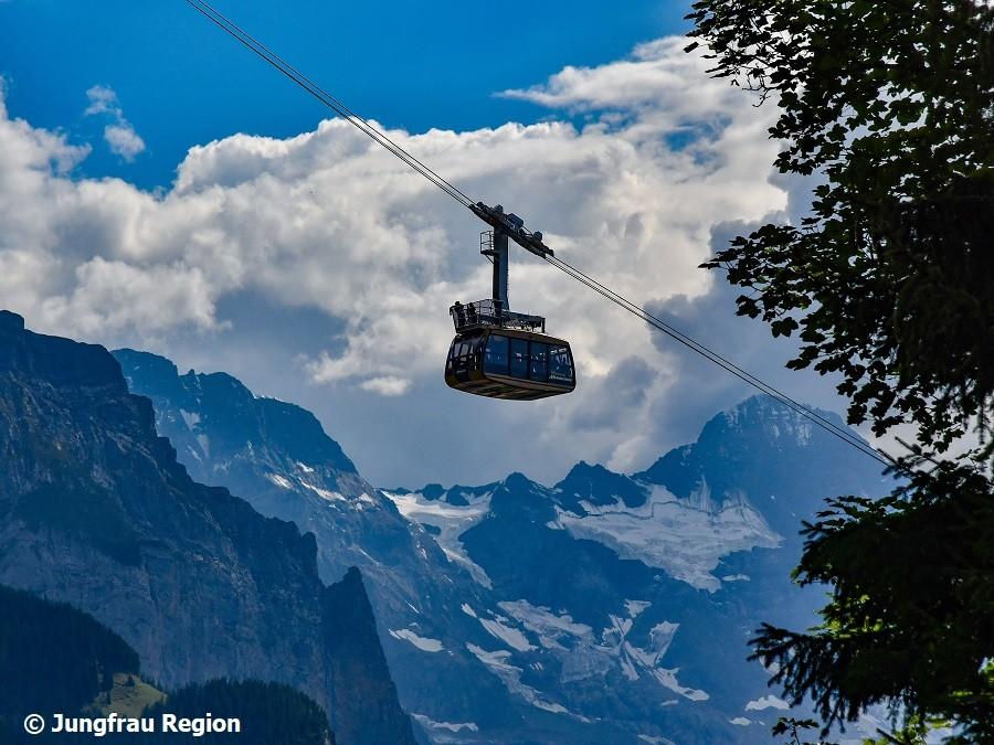 Jungfrau Region Männlichenbahn
