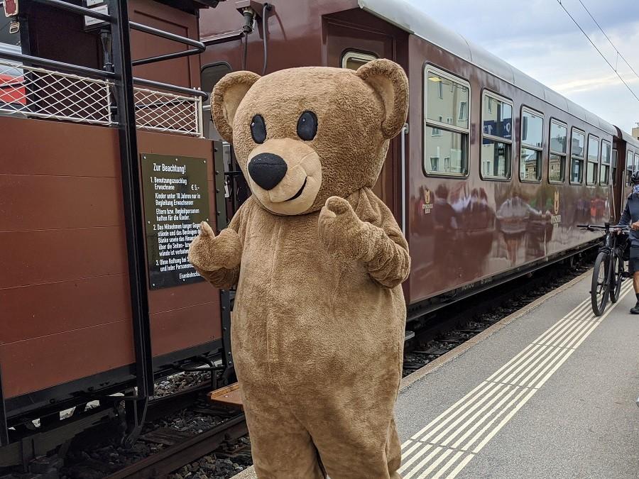 Mariazellerbahn Ötscherbär