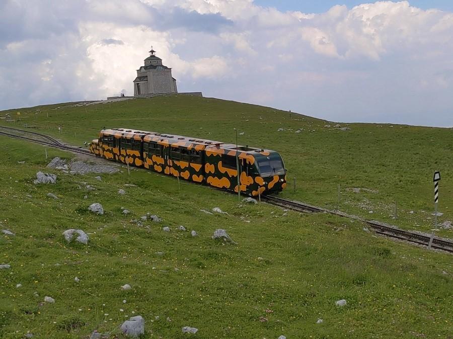 Scheebergbahn und Elisabeth Kircherl