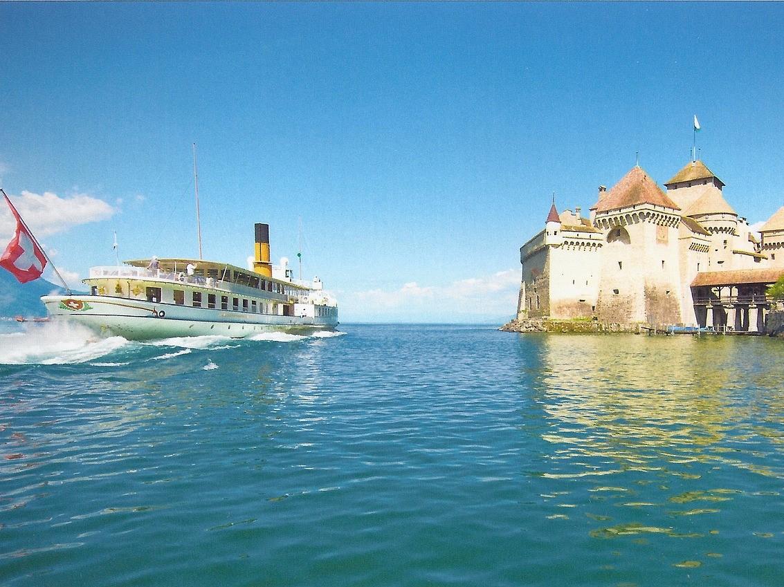 Genfer See Schloss Chillon