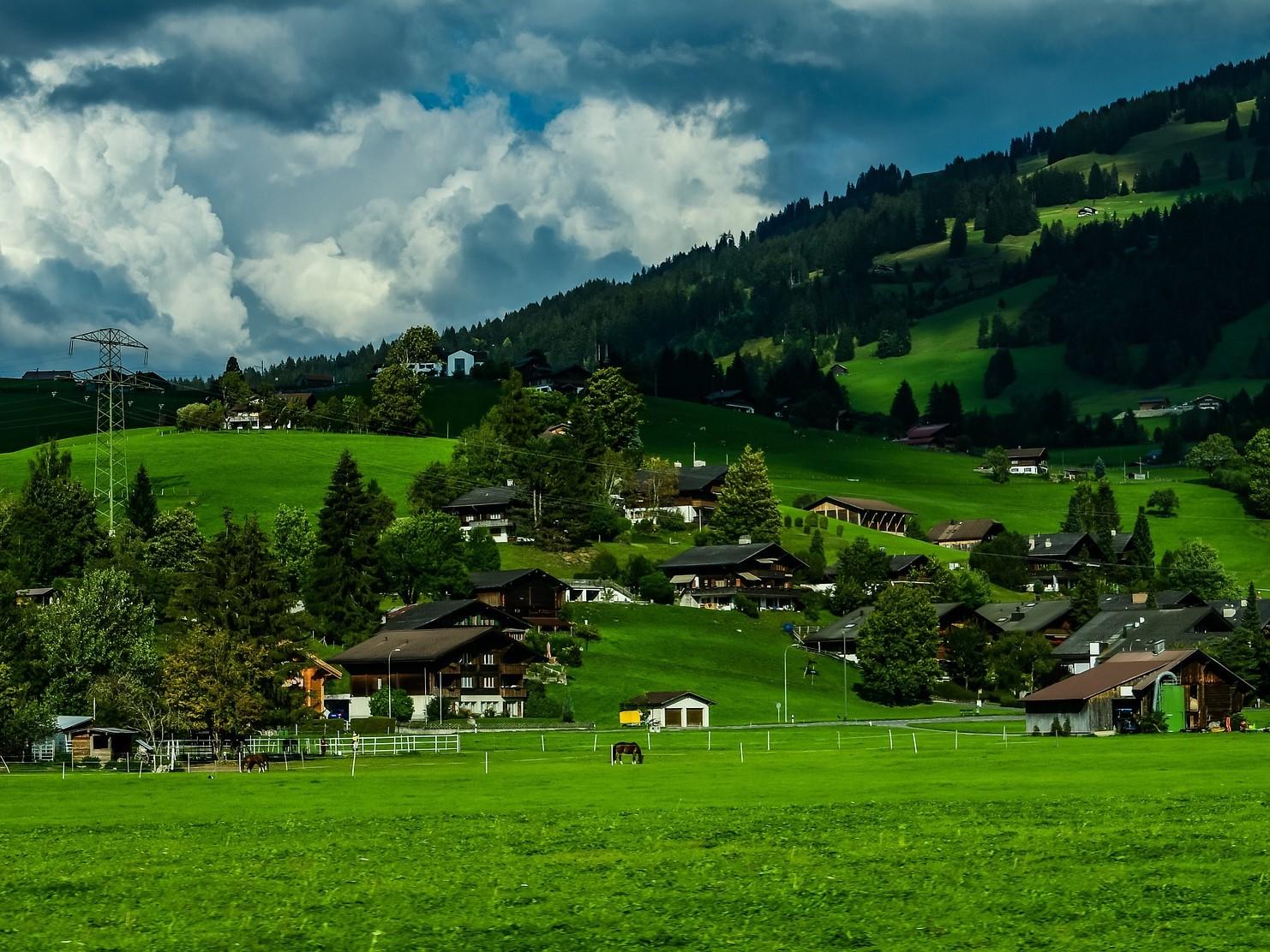 Schweiz Landschaft