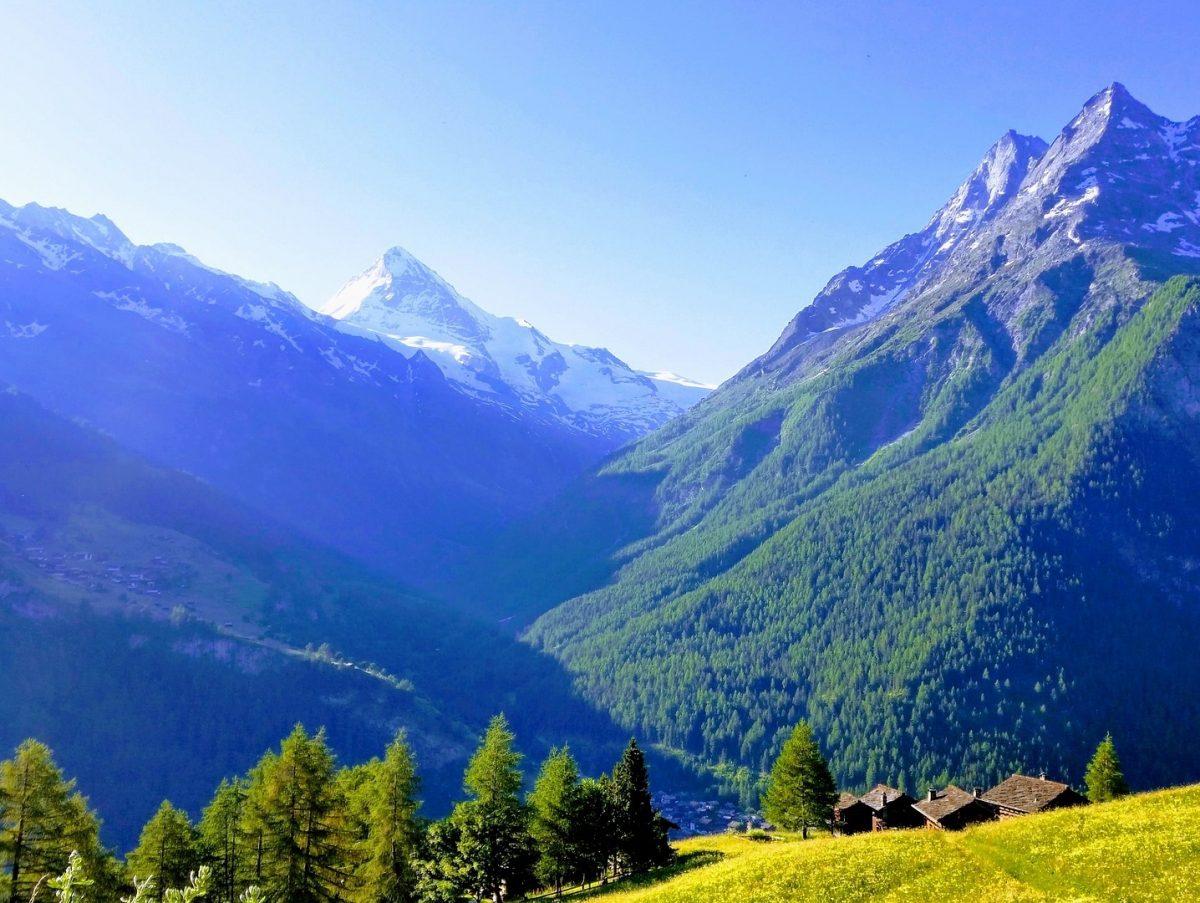 Bergurlaub in Saas Fee und Sils Maria! 10 Tage lang fantastische Bergwelt genießen, Glacier Express inklusive