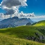 Wandern Berge Schweiz