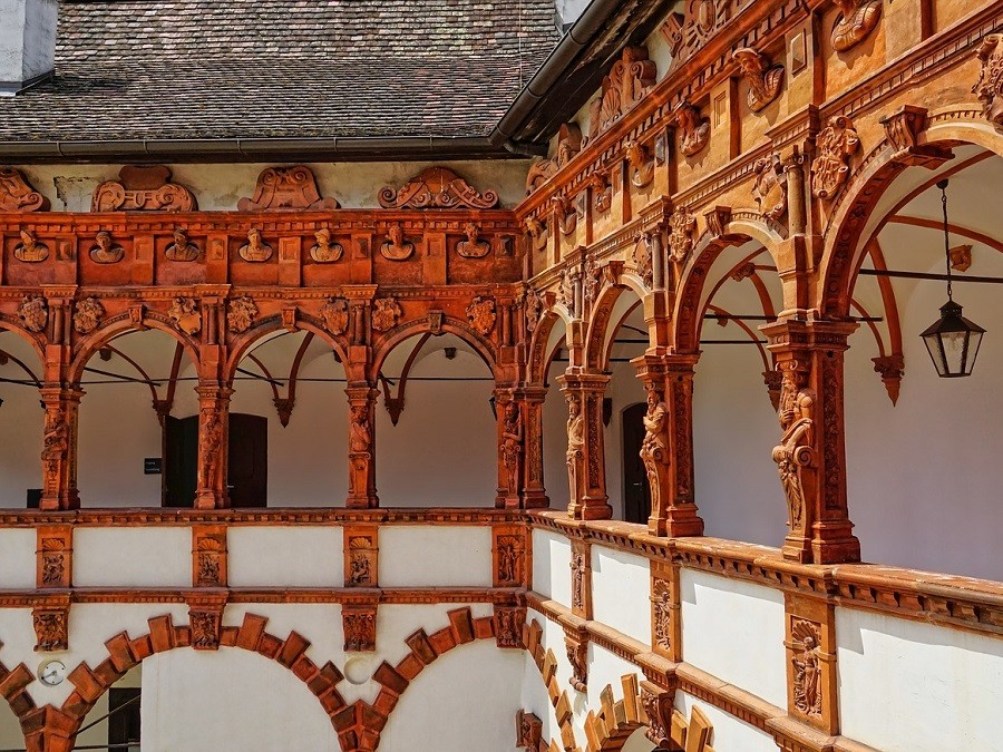 Wachau Bauwerke Schloss Schallaburg