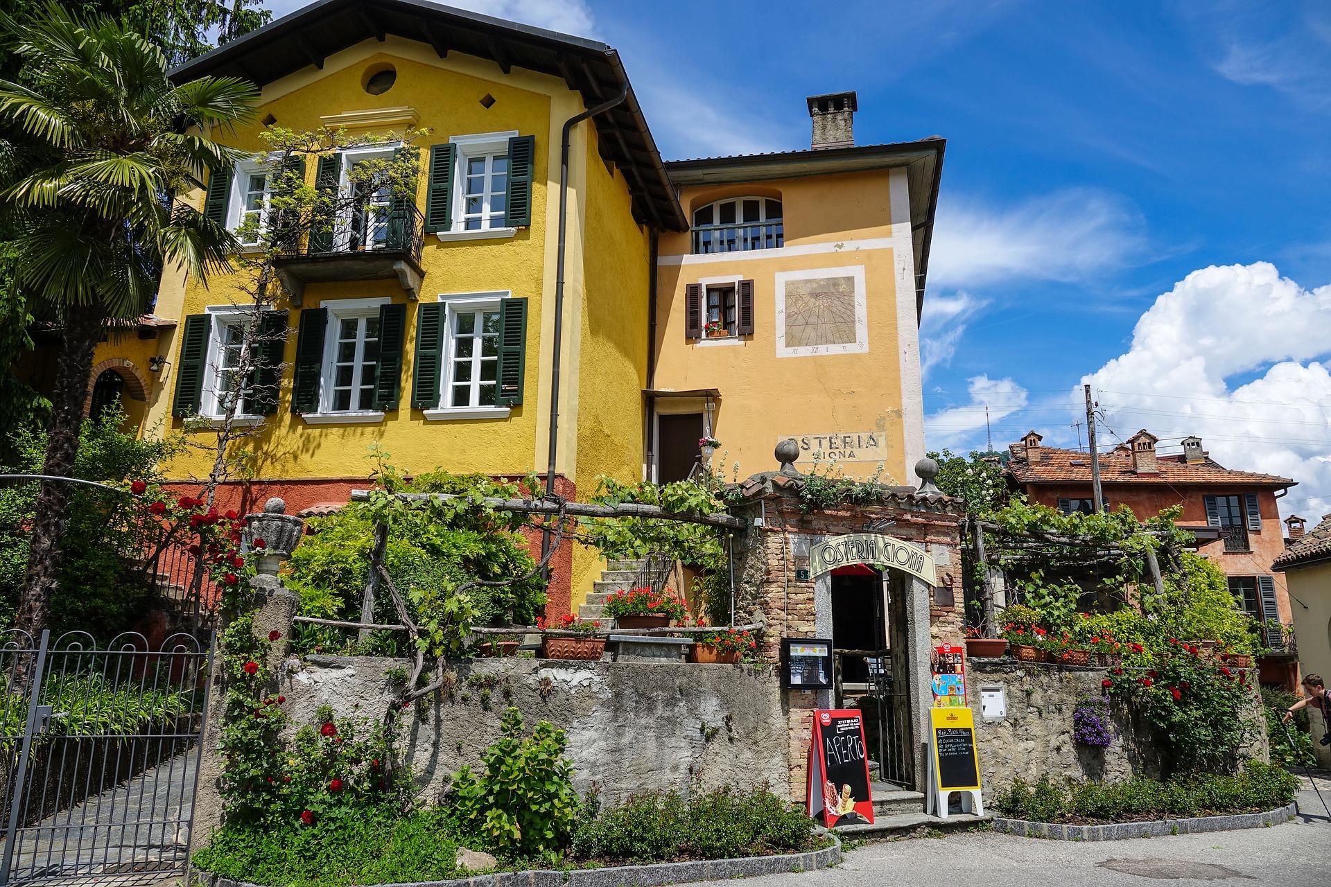 Dorf in Tessin